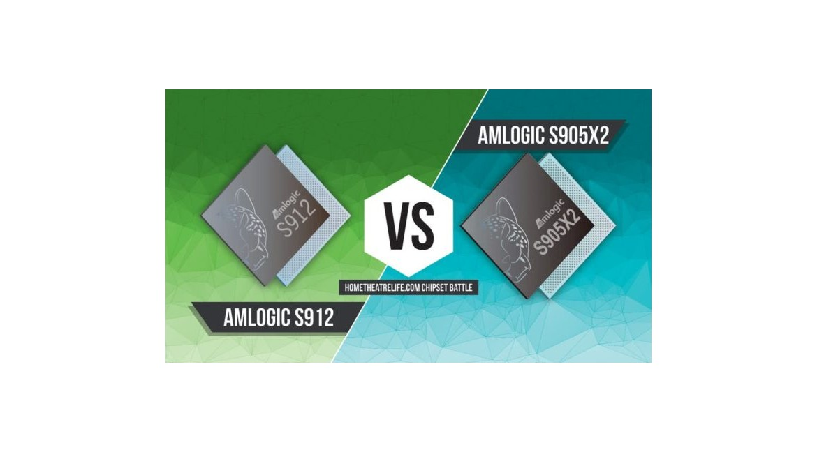 4K HD tv stick Chipset Amlogic S905X2 vs S912