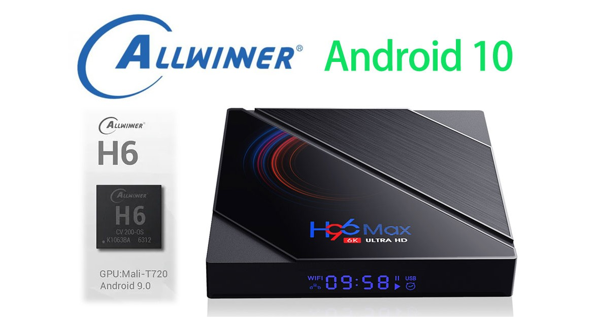 Allwinner H616 tv box firmware Download and update