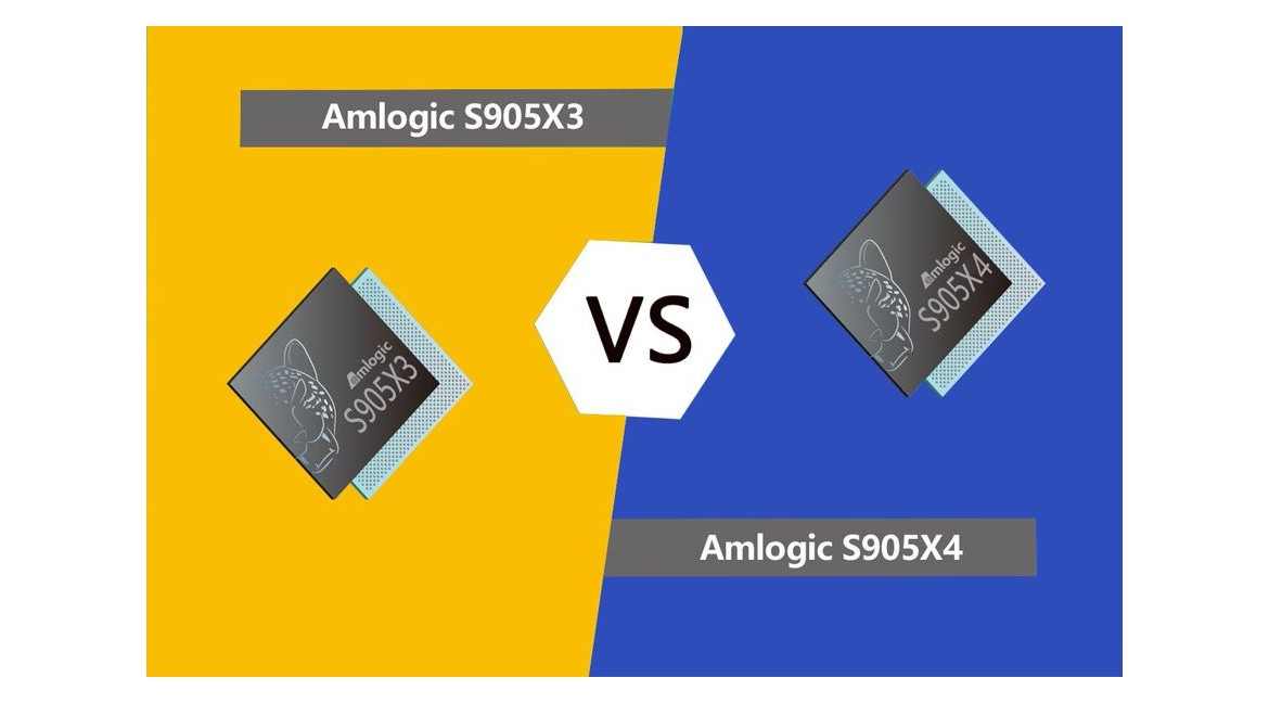 Android TV Box Chip solution Amlogic S905X3 VS S905X4