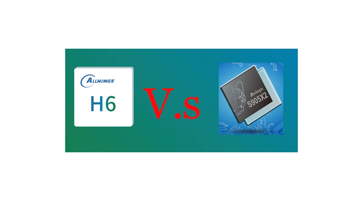 2019 Android 9.0 tv box: Allwinner H6 Vs Amlogic S905X2