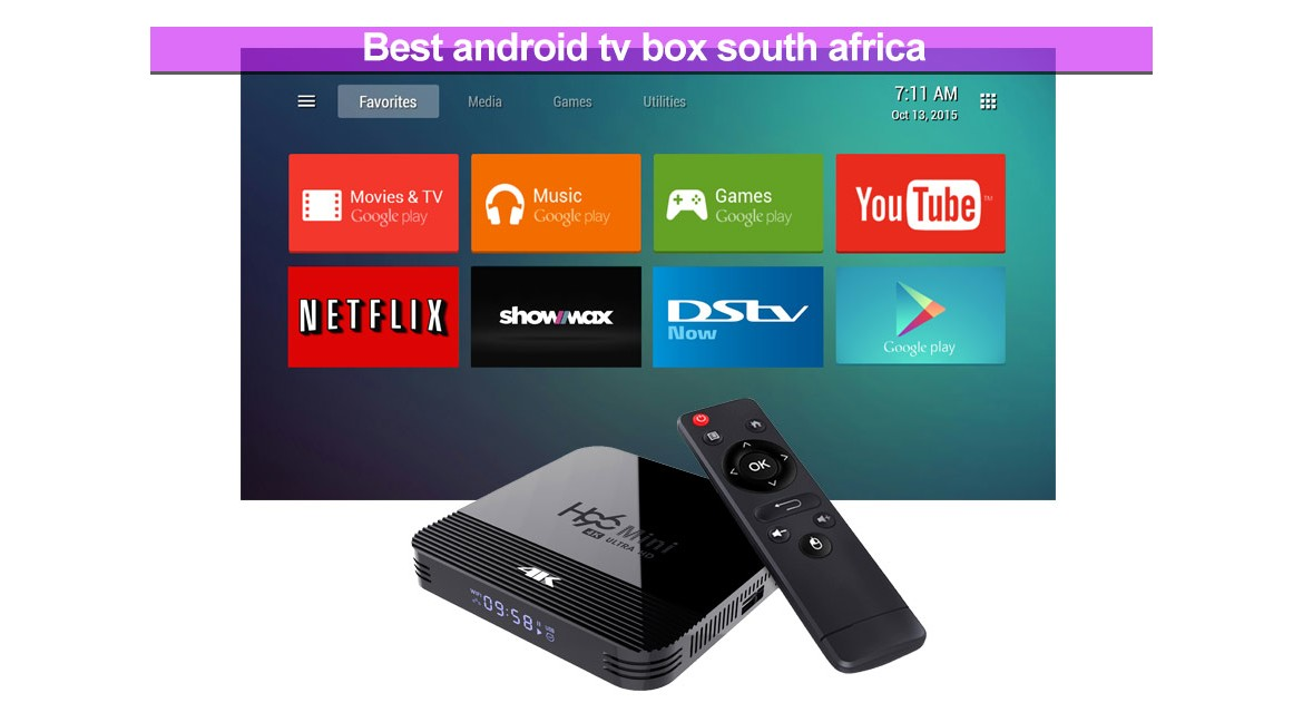 best recommend android tv box south africa