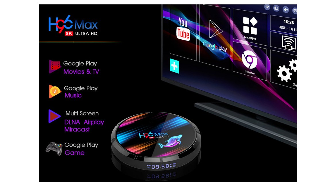 Buy Amlogic S905X3 TV box  review: H96 max x3 android 9.0