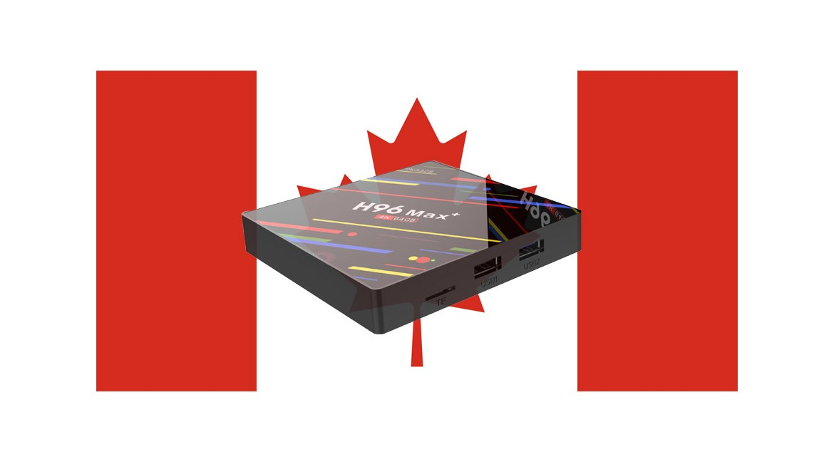 H96 brand online sales tv box in Canada