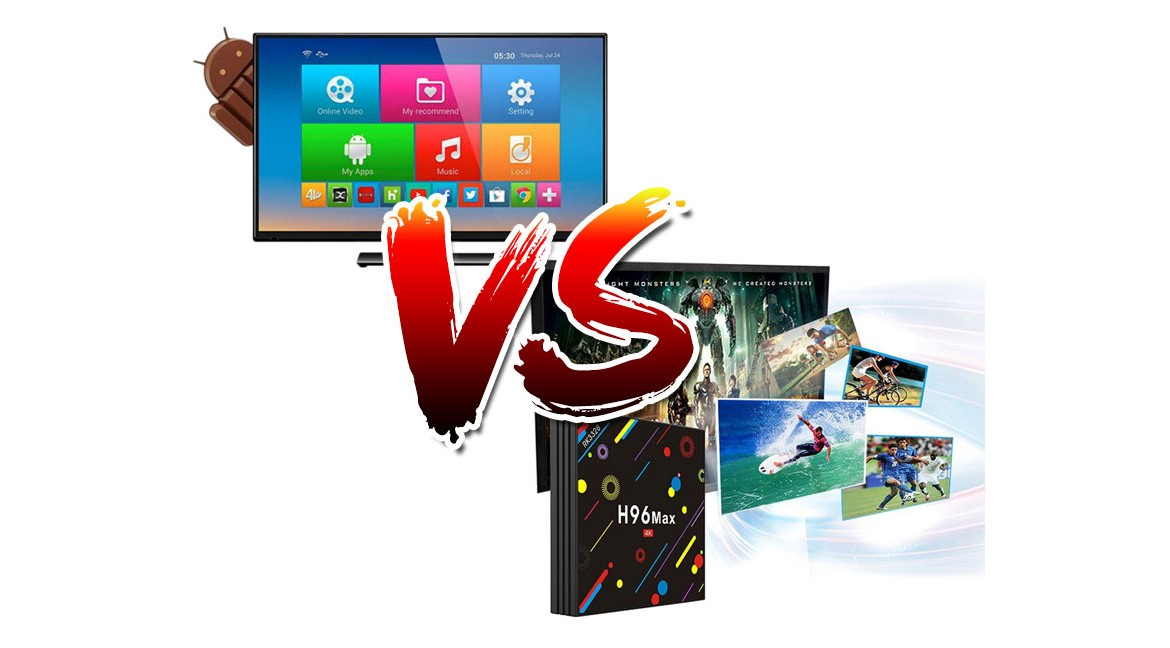 Difference between Android TV and Android TV box