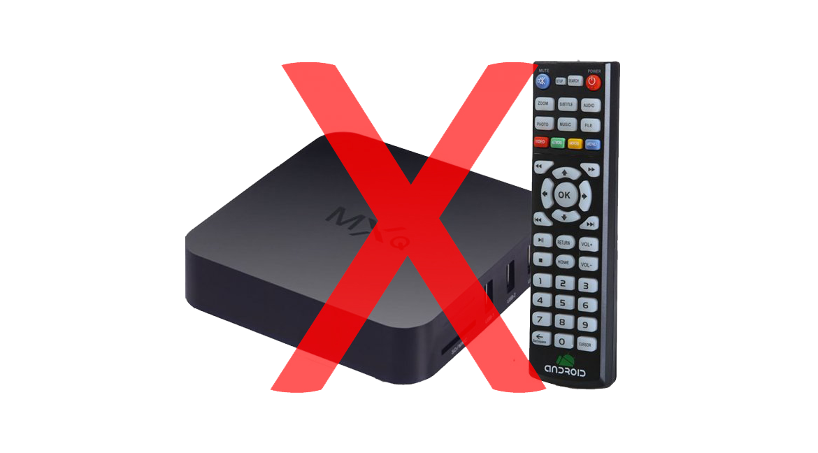 You bought the wrong MXQ Android TV Box