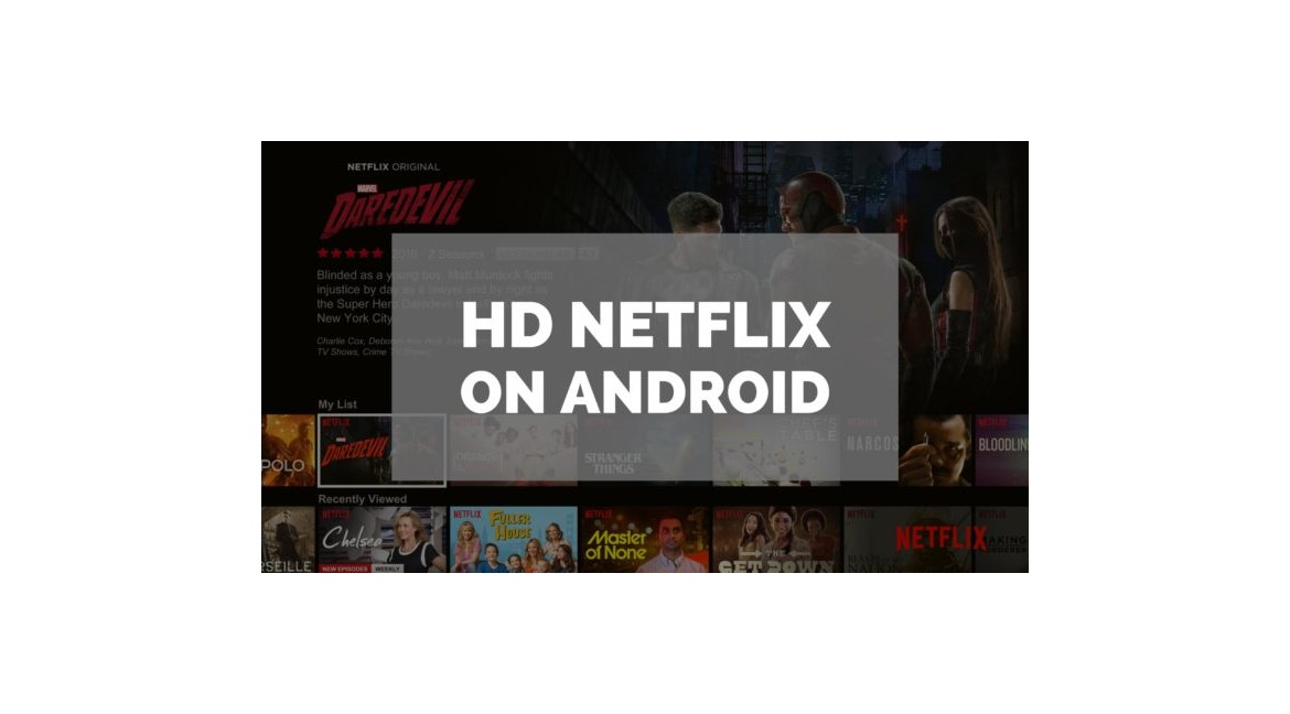 Netflix in HD and 4K on Android box