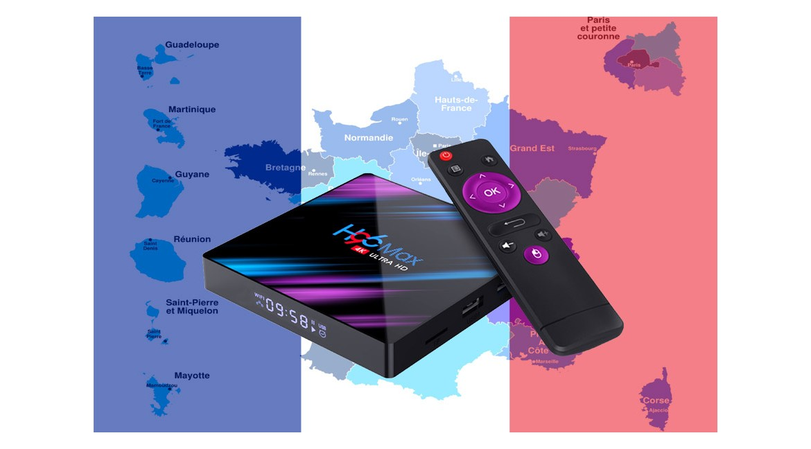 Android 9.0 tv box en France